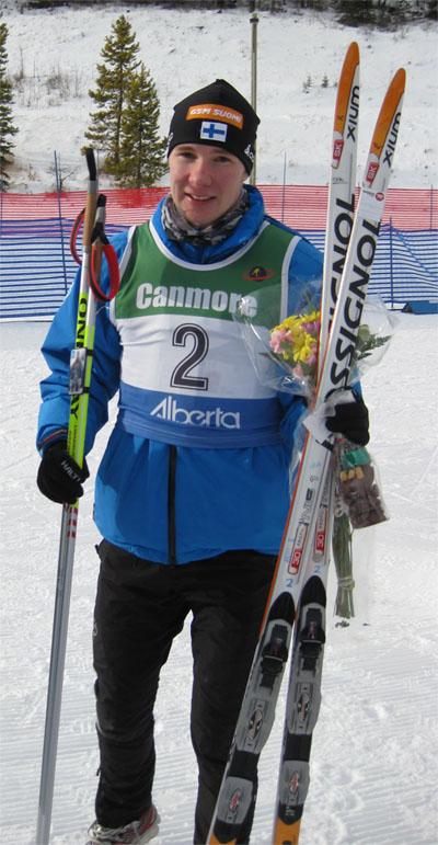 MM-hopeamitalisti Antti Raatikainen
