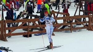 Tuomas Harjula Romaniassa normaalimatkan kilpailussa