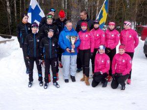 Suomen voitokas joukkue