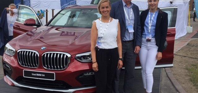 Suomen Ampumahiihtoliitto mukana BMW X4 julkistustilaisuudessa